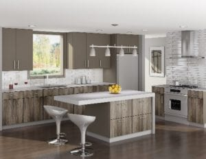 tan-colored kitchen