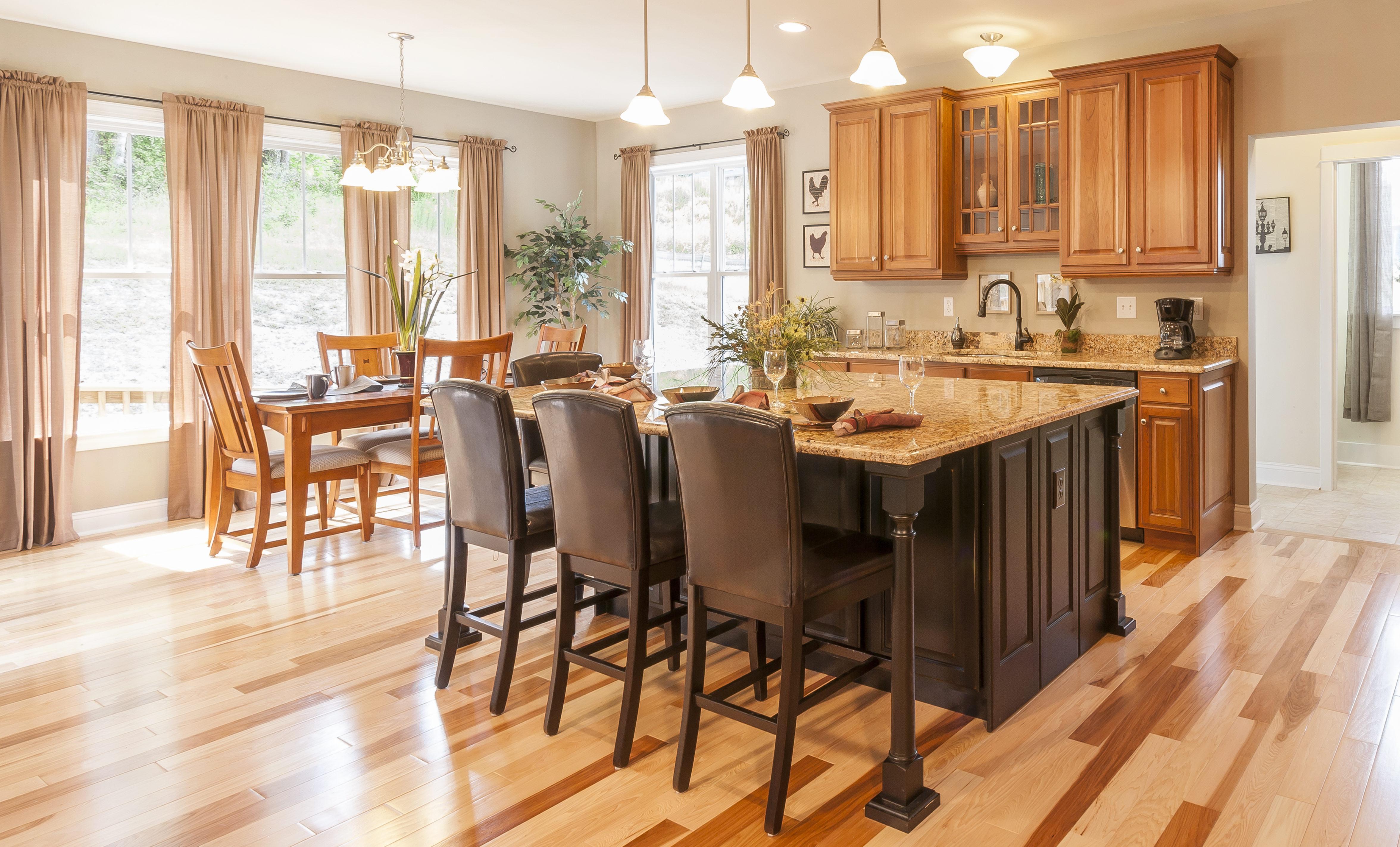 oak cabinetry