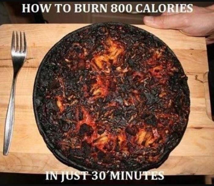 burnt pie