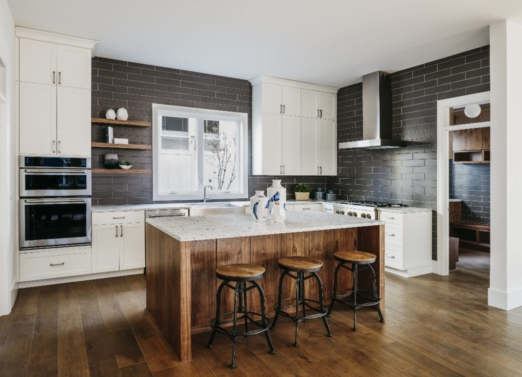 Natural Materials Kitchen